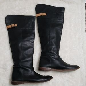 Frye Paige Cuff leather tall boot